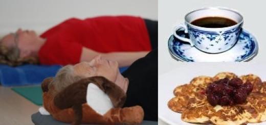 Yoga og kaffe